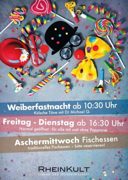 Karnevalszeit im RheinKult